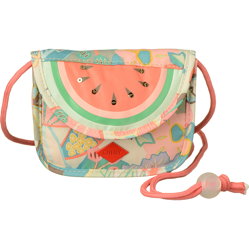 Oilily Hang Wallet Pastel Oilily Fabric Handbags