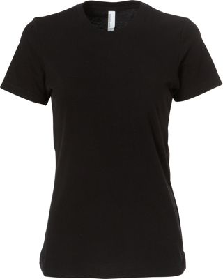 Simplex Apparel CVC Women's Crew Tee 2XL - Black - Simplex Apparel Women's Apparel