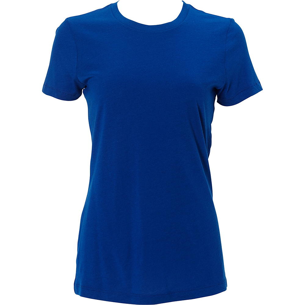 Simplex Apparel Modal Womens Crew Tee S - Royal - Simplex Apparel Womens Apparel - Apparel & Footwear, Women's Apparel