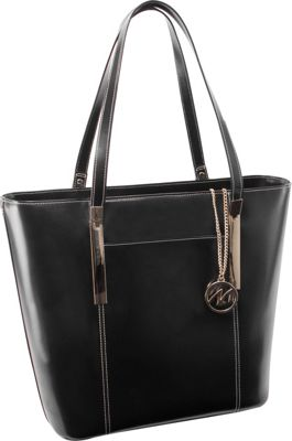 McKlein USA McKlein USA Deva Work Tote Black - McKlein USA Women's Business Bags