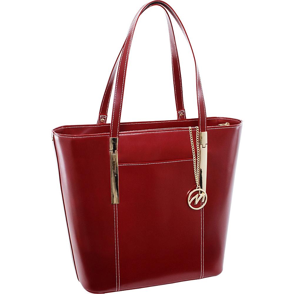 McKlein USA Deva Work Tote EXCLUSIVE Red McKlein USA Women s Business Bags
