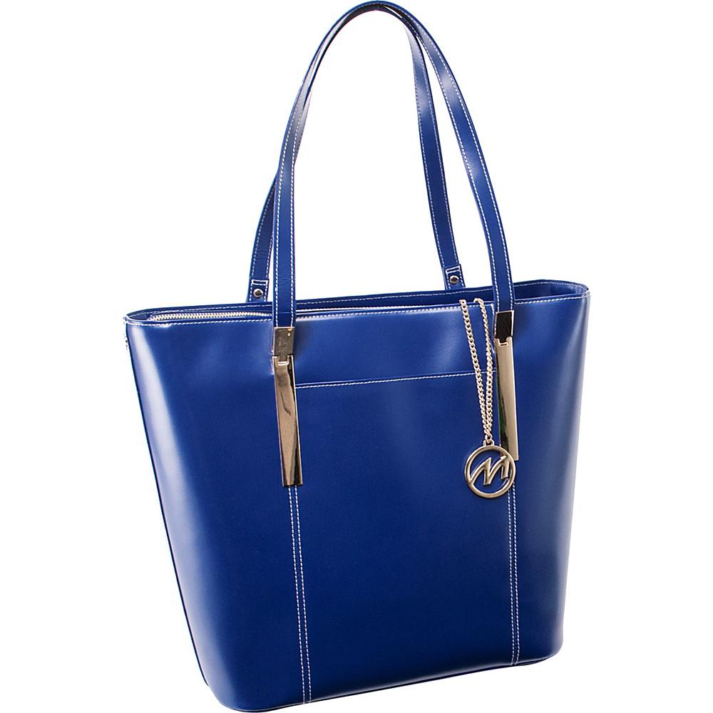 McKlein USA Deva Work Tote EXCLUSIVE Navy McKlein USA Women s Business Bags