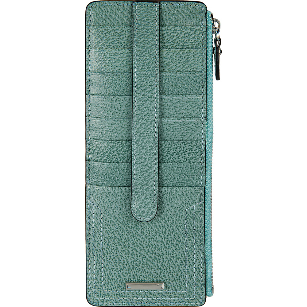 Lodis Stephanie Under Lock & Key Credit Card Case W/Zip Ocean - Lodis Womens Wallets - Women's SLG, Women's Wallets
