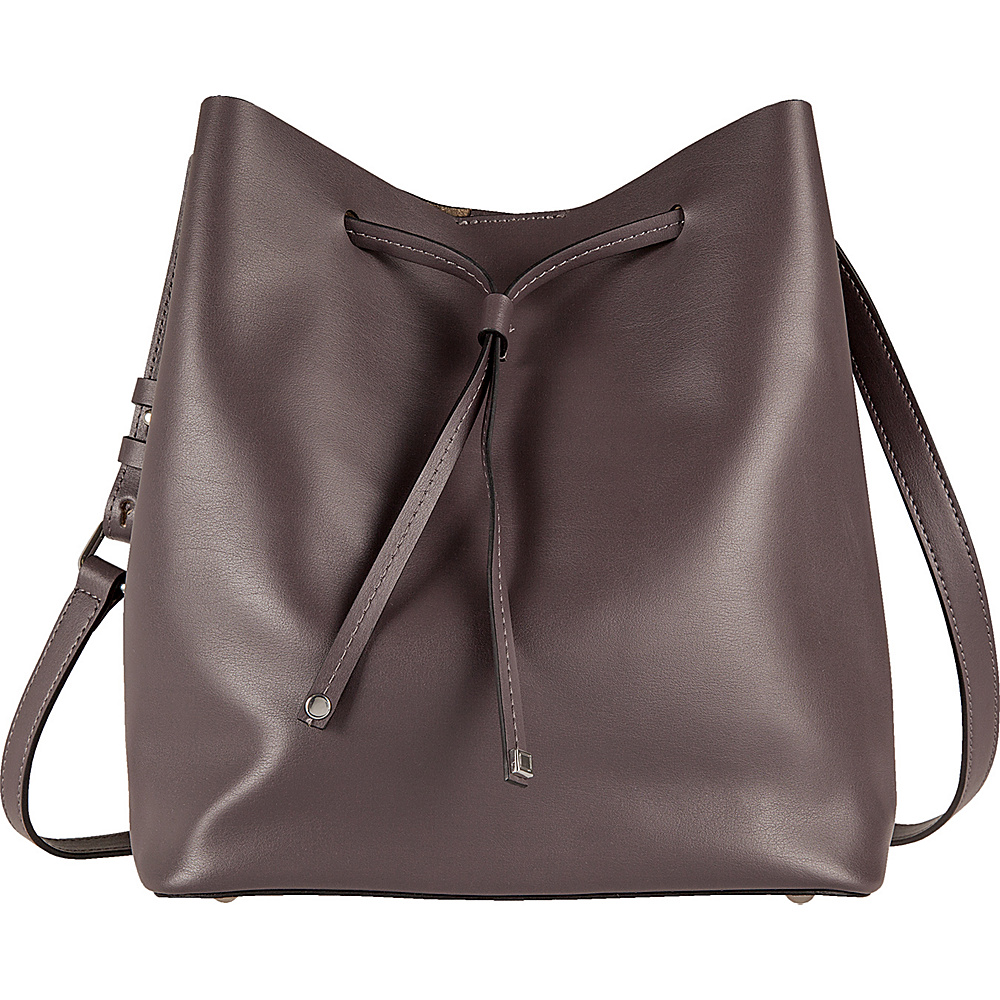 Lodis Blair Gail Medium Crossbody Lava/Taupe - Lodis Leather Handbags - Handbags, Leather Handbags