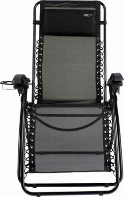 Travel Chair Company Lounge Lizard Mesh Chair Black - Travel Chair Company Outdoor Accessories