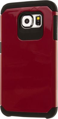 EMPIRE MINX Slim Protection Hybrid Case for Samsung Galaxy S6 Burgundy - EMPIRE Electronic Cases