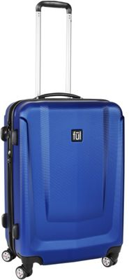 ful Load Rider Hardcase Exp 28in Spinner Upright Luggage Cobalt - ful Hardside Checked