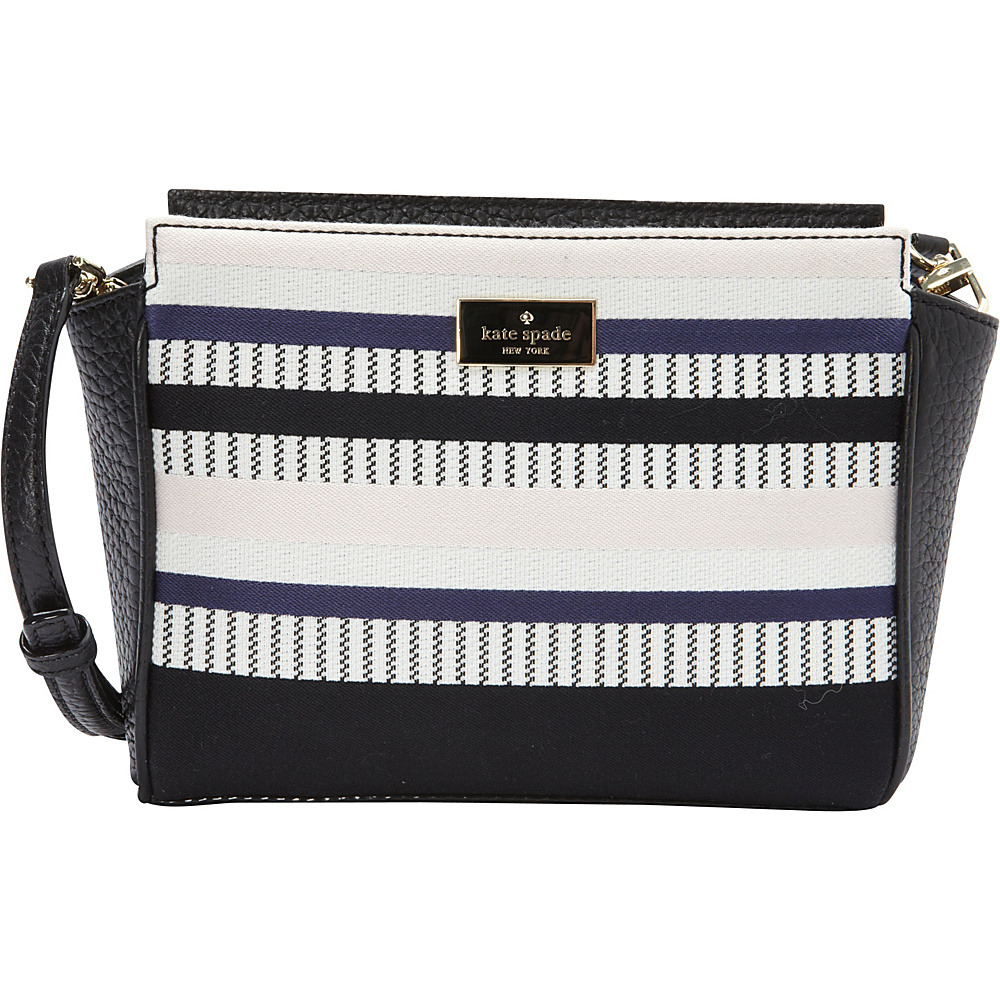 kate spade new york Prospect Place Stripe Hayden Crossbody Multi - kate spade new york Designer Handbags