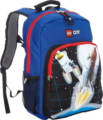 LEGO City Space Blast Off Backpack Blue - LEGO Everyday Backpacks