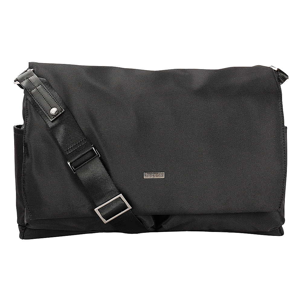 Bugatti Contratempo Messenger Bag Black Bugatti Messenger Bags