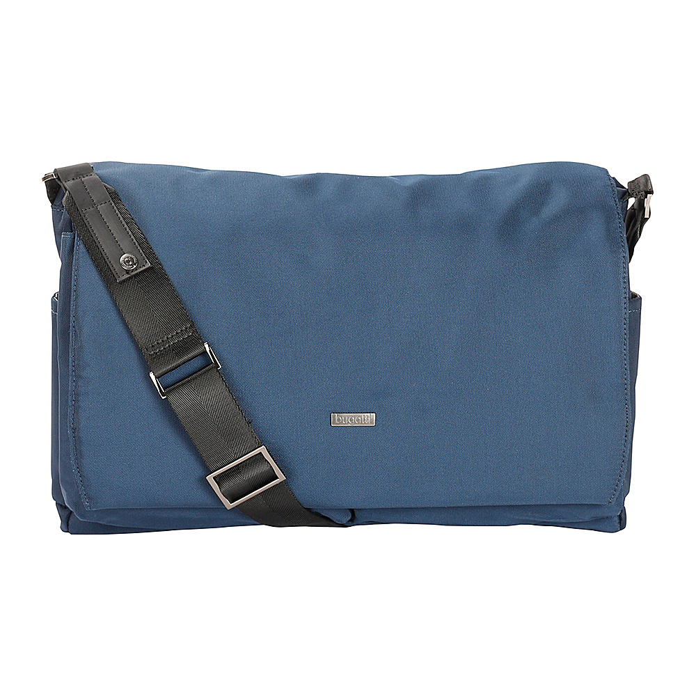 Bugatti Contratempo Messenger Bag Blue Bugatti Messenger Bags