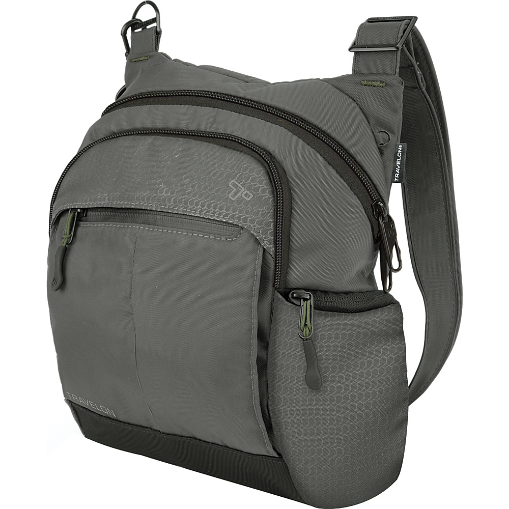 Travelon Anti-Theft Active Tour Bag Charcoal - Travelon Other Men's Bags