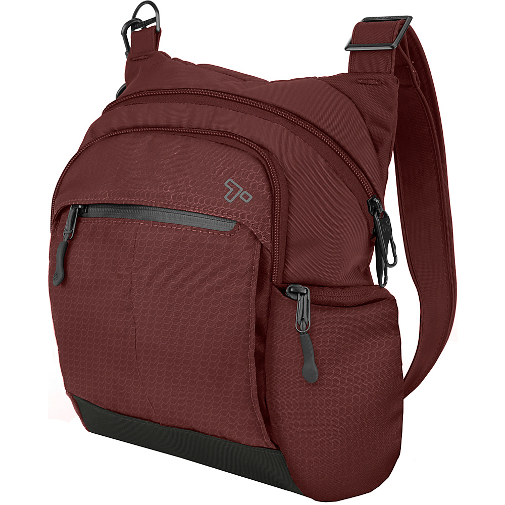Travelon Anti-Theft Active Tour Bag Wine - Travelon Other Men's Bags