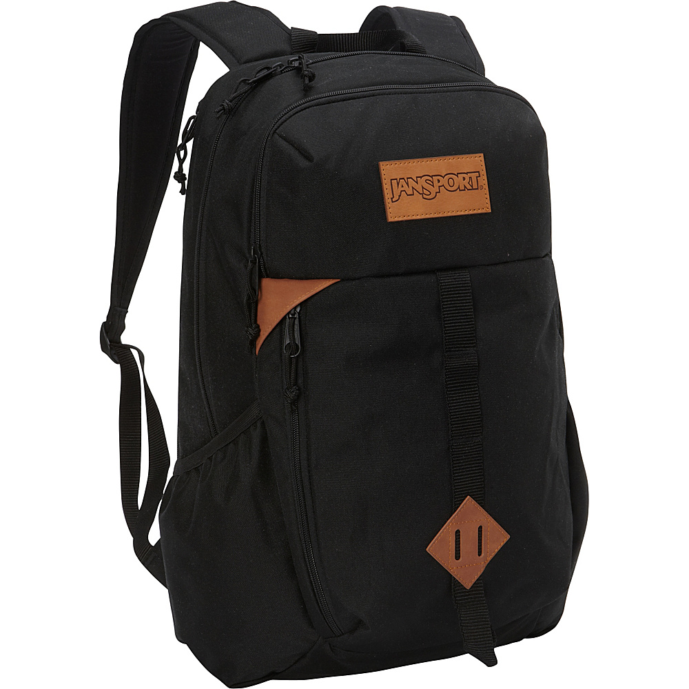 JanSport Hawk Ridge Laptop Backpack Black - JanSport Business & Laptop Backpacks