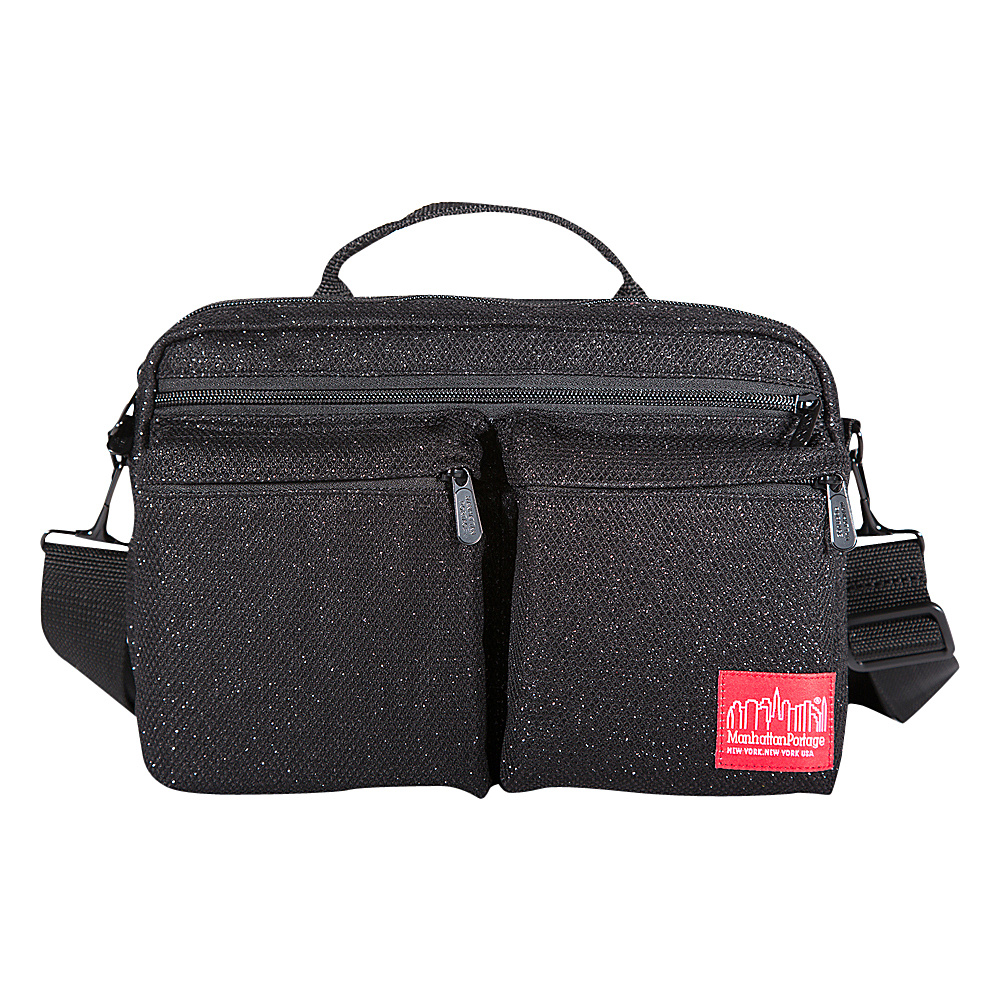 Manhattan Portage Midnight Albany Shoulder Bag Black - Manhattan Portage Other Mens Bags - Work Bags & Briefcases, Other Men's Bags