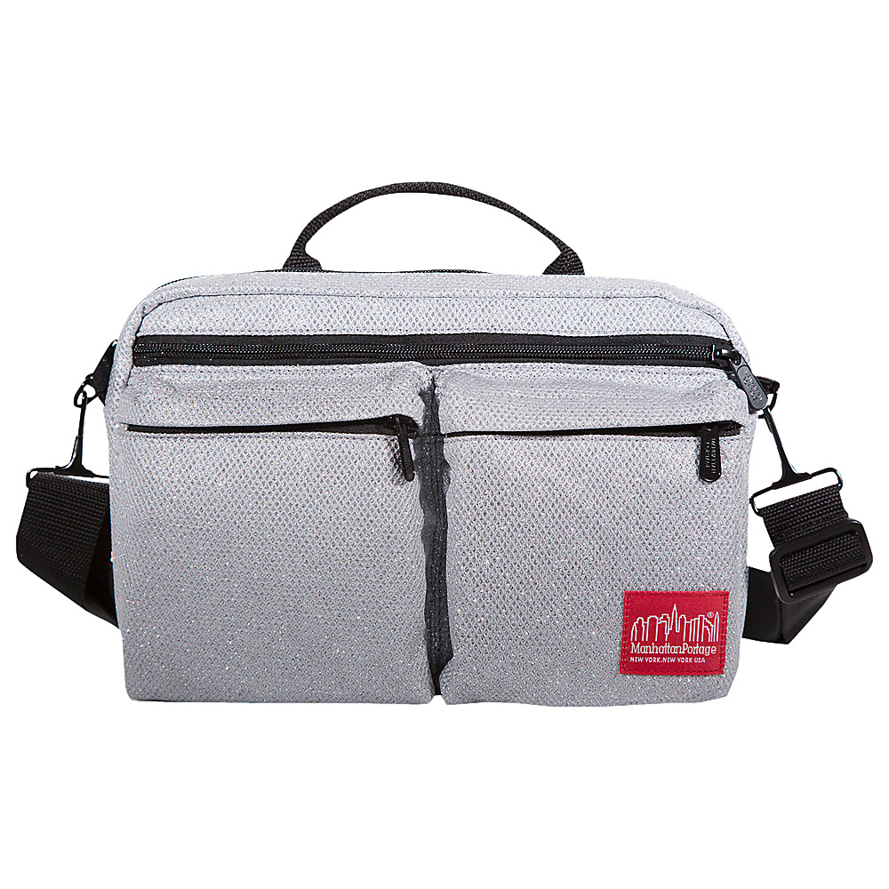 Manhattan Portage Midnight Albany Shoulder Bag Gray - Manhattan Portage Other Mens Bags - Work Bags & Briefcases, Other Men's Bags