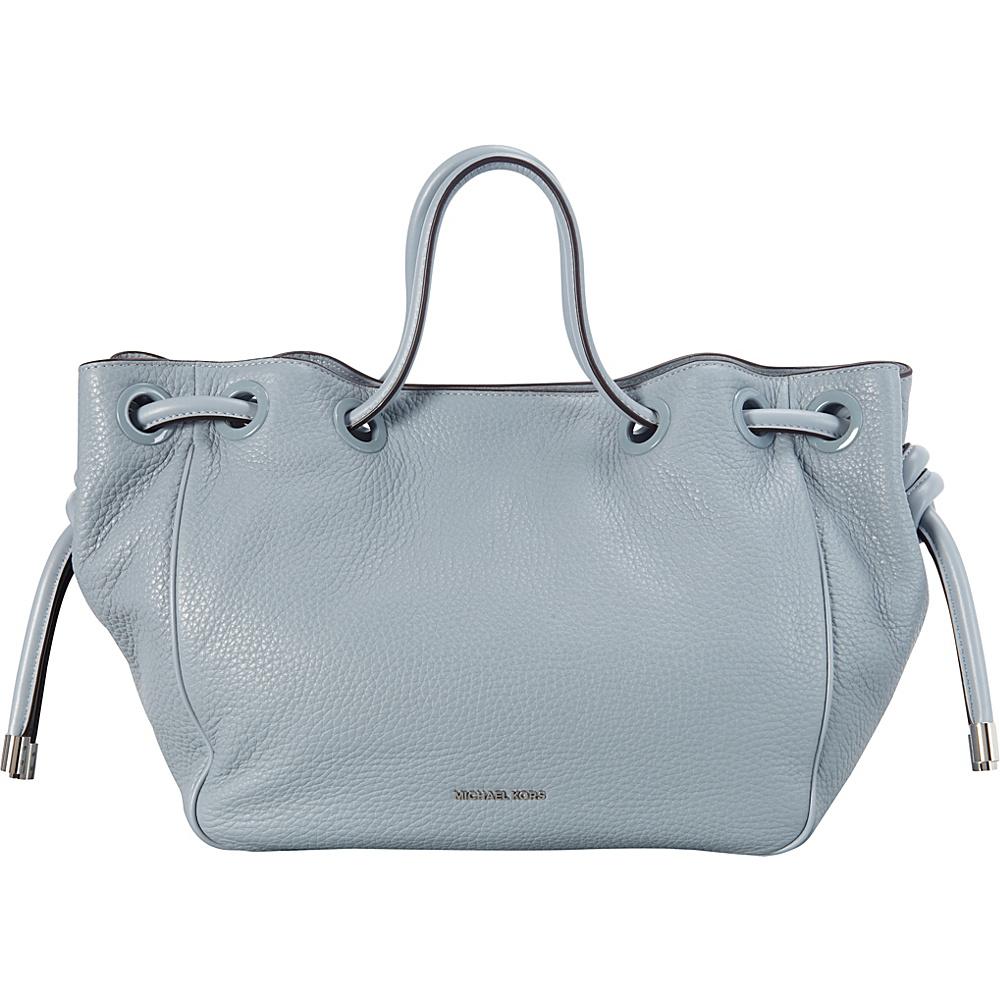 MICHAEL Michael Kors Dalia Large Shoulder Tote Dusty Blue - MICHAEL Michael Kors Designer Handbags
