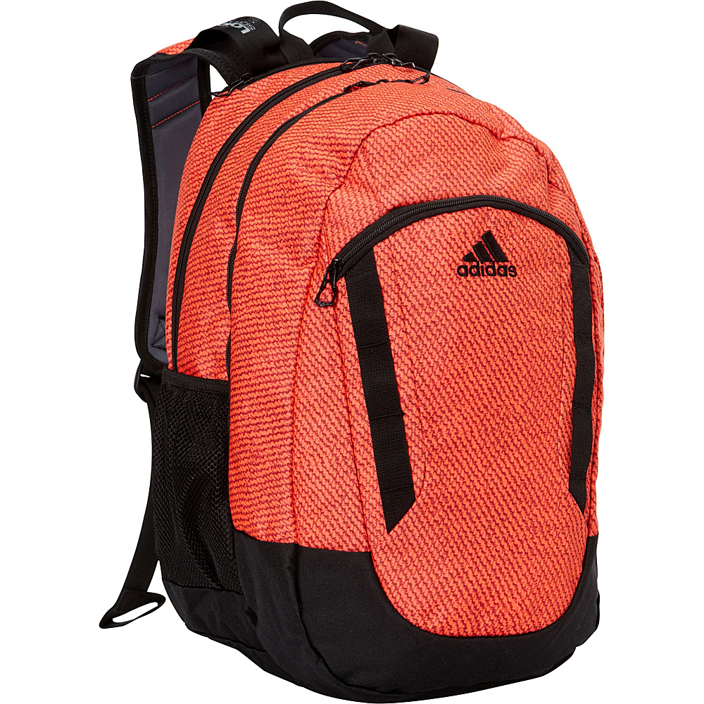 adidas Excel II Laptop Backpack Twill Solar Red/Black - adidas Business & Laptop Backpacks