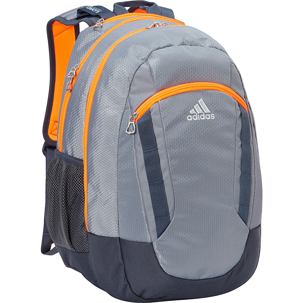 adidas Excel II Laptop Backpack Grey/Deepest Space/Solar Orange/Clear Grey - adidas Laptop Backpacks