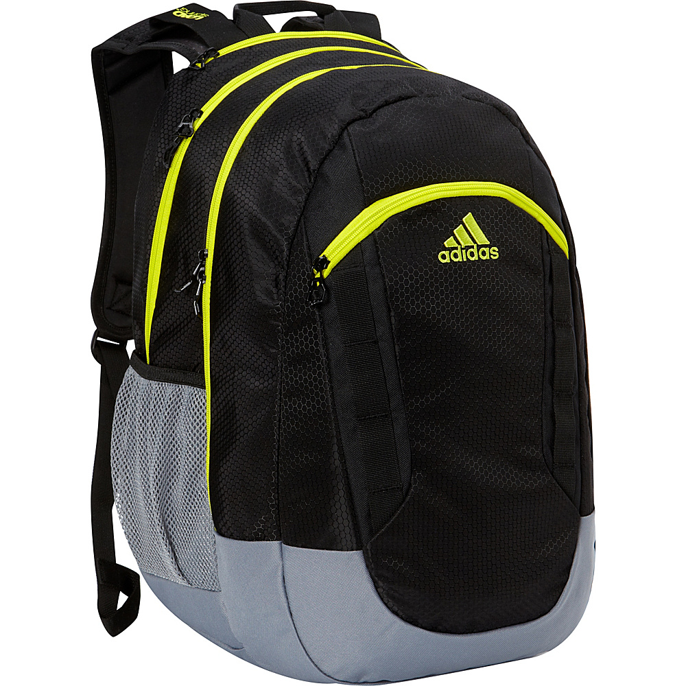 adidas Excel II Laptop Backpack Black/Grey/Solar Yellow/Deepest Space/Neo White - adidas Business & Laptop Backpacks