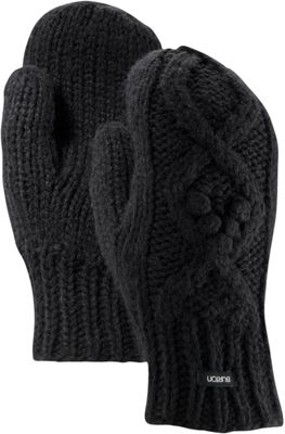 Burton Womens Chloe Mitten One Size - True Black - Burton Hats/Gloves/Scarves