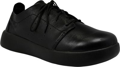 SoftScience Mens Pro Lace Leather Work Shoe 9 - Black - SoftScience Men's Footwear