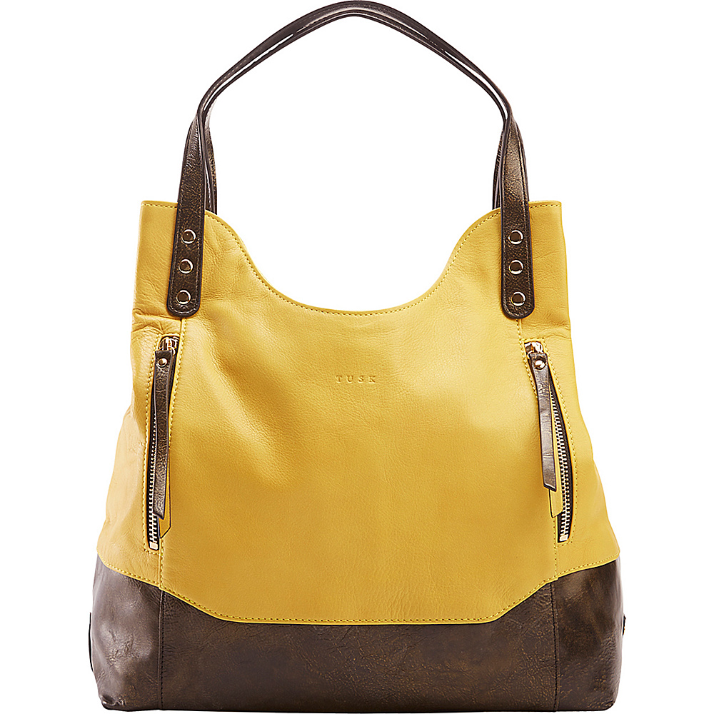 TUSK LTD Soft Tote Yellow Gold TUSK LTD Leather Handbags