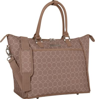 Nine West Luggage Allea Tote Taupe - Nine West Luggage Luggage Totes and Satchels