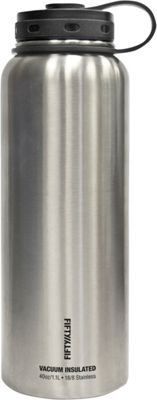 FIFTY/FIFTY Vacuum-Insulated Bottle-40oz Stainless Steel - FIFTY/FIFTY Hydration Packs and Bottles
