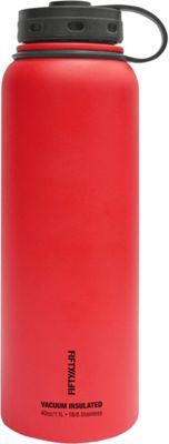 FIFTY/FIFTY Vacuum-Insulated Bottle-40oz Apple Red - FIFTY/FIFTY Hydration Packs and Bottles