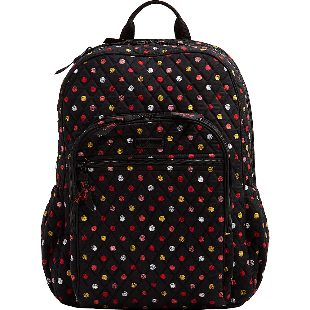 Vera Bradley Campus Tech Backpack Havana Dots - Vera Bradley Everyday Backpacks - Backpacks, Everyday Backpacks