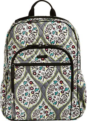 Vera Bradley Campus Tech Backpack Heritage Leaf - Vera Bradley Everyday Backpacks