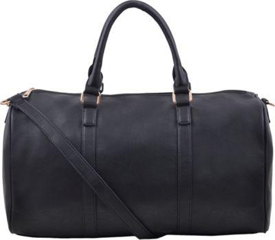 Epic Chic Malibu Skye Classic Duffel Bag Black - Epic Chic Manmade Handbags