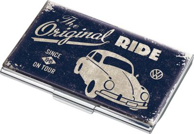 Troika Volkswagen Card Case Bue - Troika Business Accessories