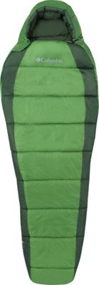 Columbia Sportswear Columbia Sportswear Adult Mummy Bag Long 20 Degrees Clean Green - Columbia Sportswear Outdoor Accessories