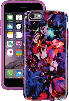 Speck- Do not use IPhone 6/6s Candyshell Inked Case Lush Floral Pattern/Beaming Orchid Purple - Speck- Do not use Electronic Cases