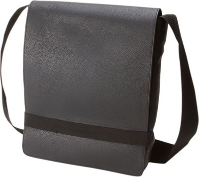 Moleskine Classic Leather Reporter Bag Black - Moleskine Other Men's Bags