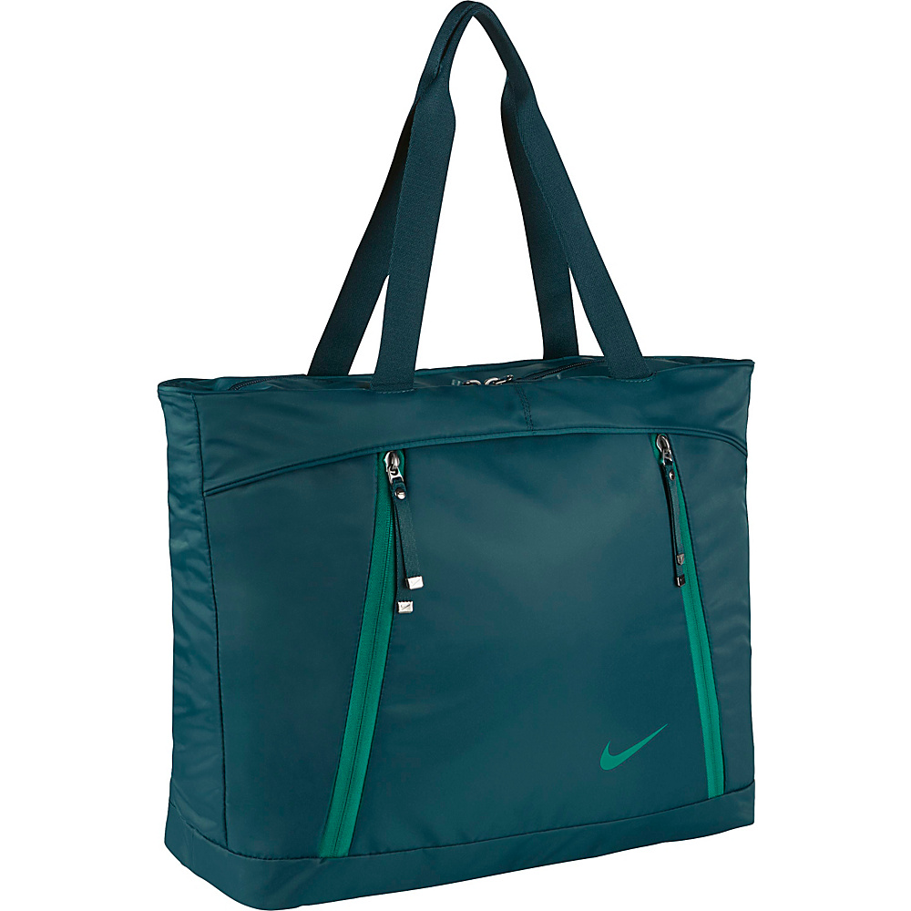 Nike Auralux Tote Midnight Turquoise/Midnight Turquoise/Rio Teal - Nike Gym Duffels