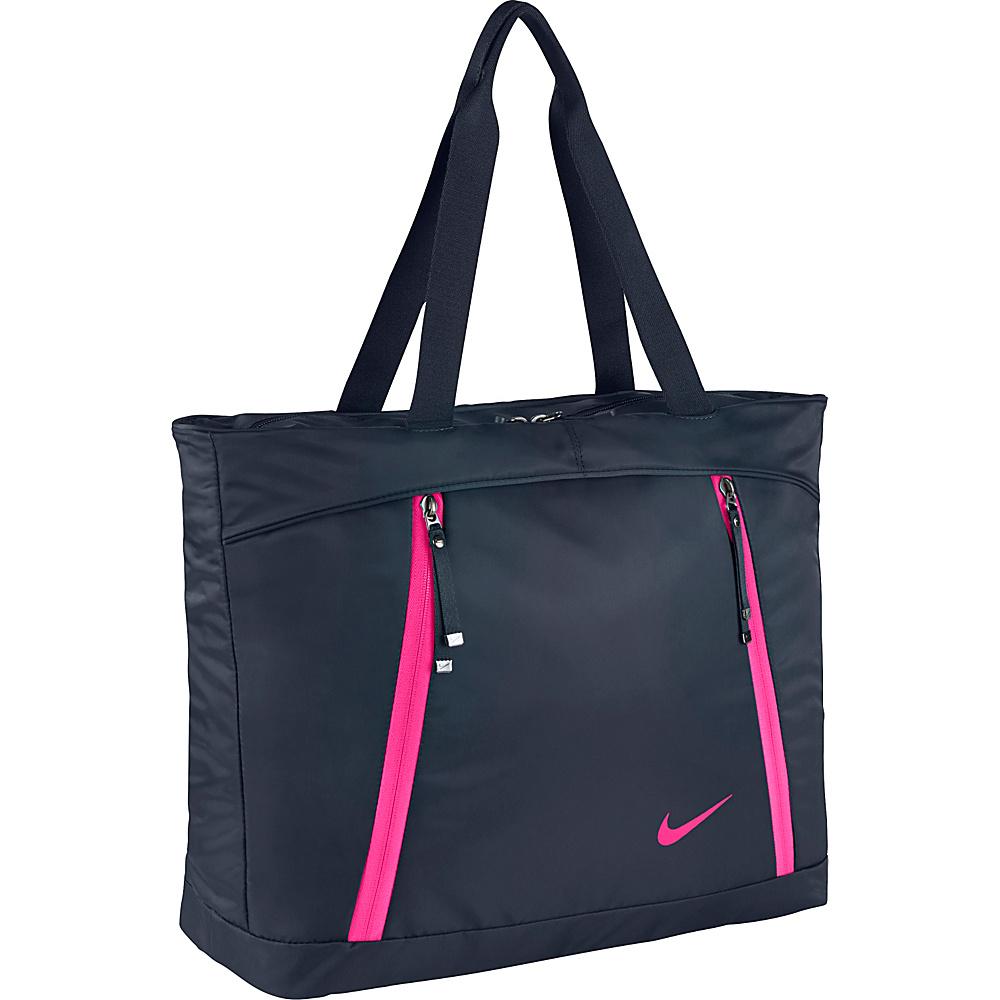 Nike Auralux Tote Obsidian/Obsidian/Hyper Pink - Nike Gym Bags