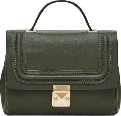 HButler Mighty Purse Cell Charging Nolita Crossbody Green - HButler Manmade Handbags