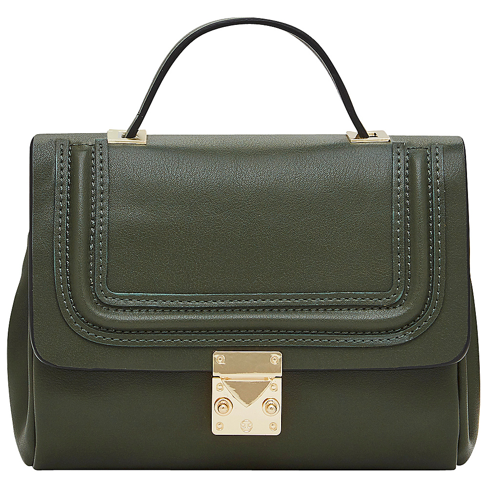 HButler Mighty Purse Cell Charging Nolita Crossbody Green HButler Manmade Handbags