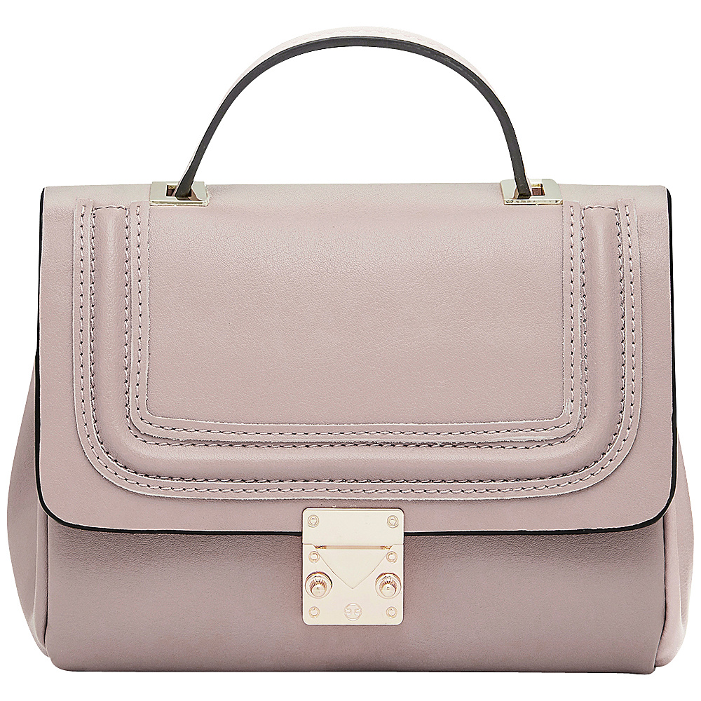 HButler Mighty Purse Cell Charging Nolita Crossbody Dusty Pink HButler Manmade Handbags
