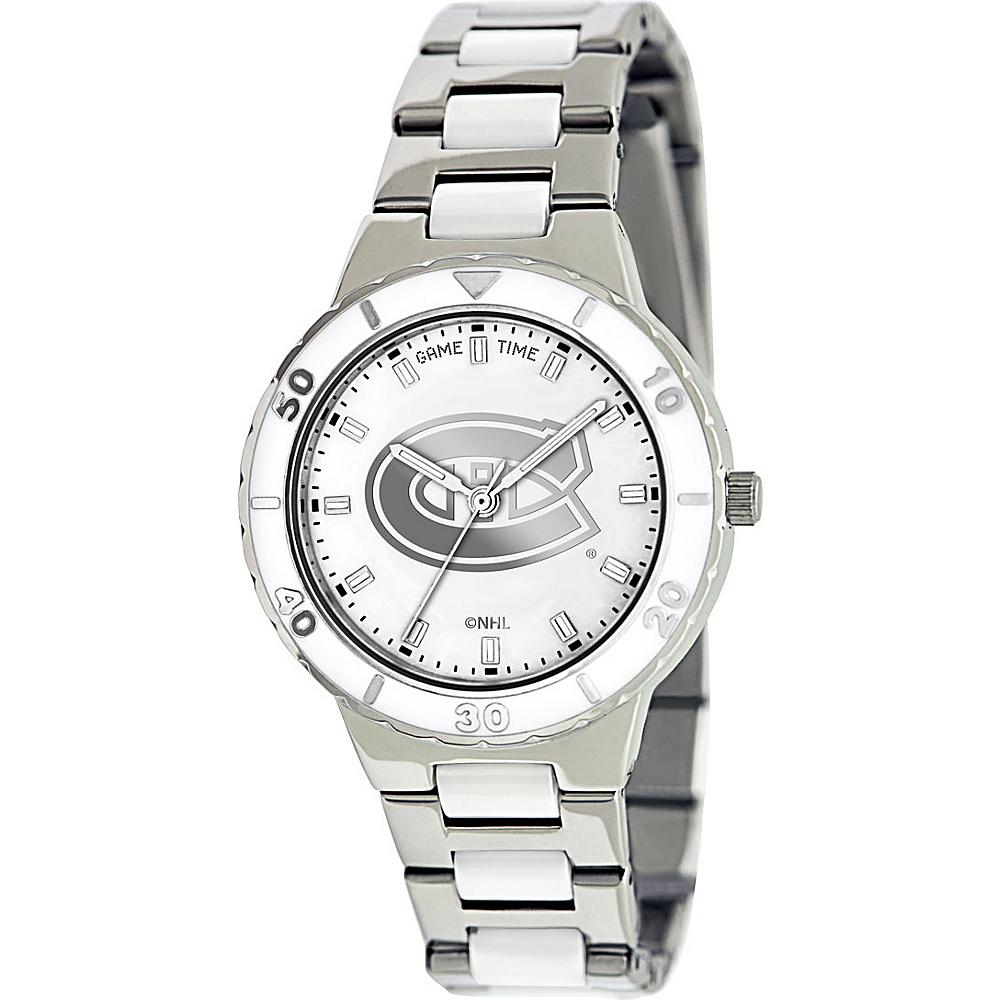 Game Time Pearl NHL Watch Montreal Canadiens - Game Time Watches - Fashion Accessories, Watches