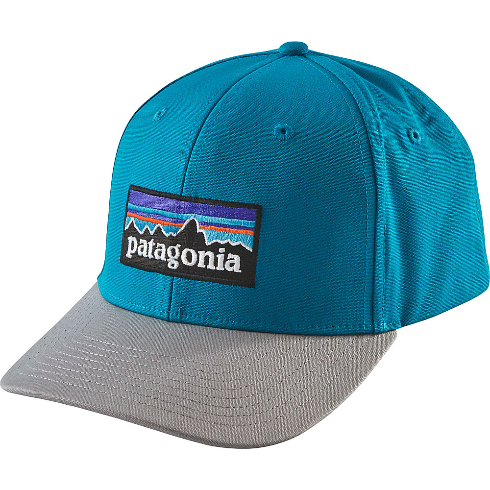 Patagonia P-6 Logo Roger That Hat One Size - Grecian Blue - Patagonia Hats/Gloves/Scarves - Fashion Accessories, Hats/Gloves/Scarves