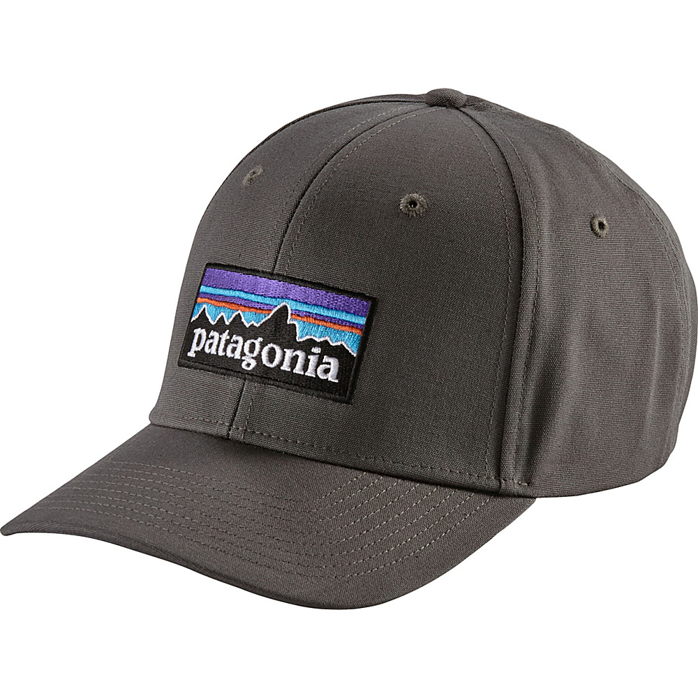 Patagonia P-6 Logo Roger That Hat One Size - Forge Grey - Patagonia Hats/Gloves/Scarves - Fashion Accessories, Hats/Gloves/Scarves