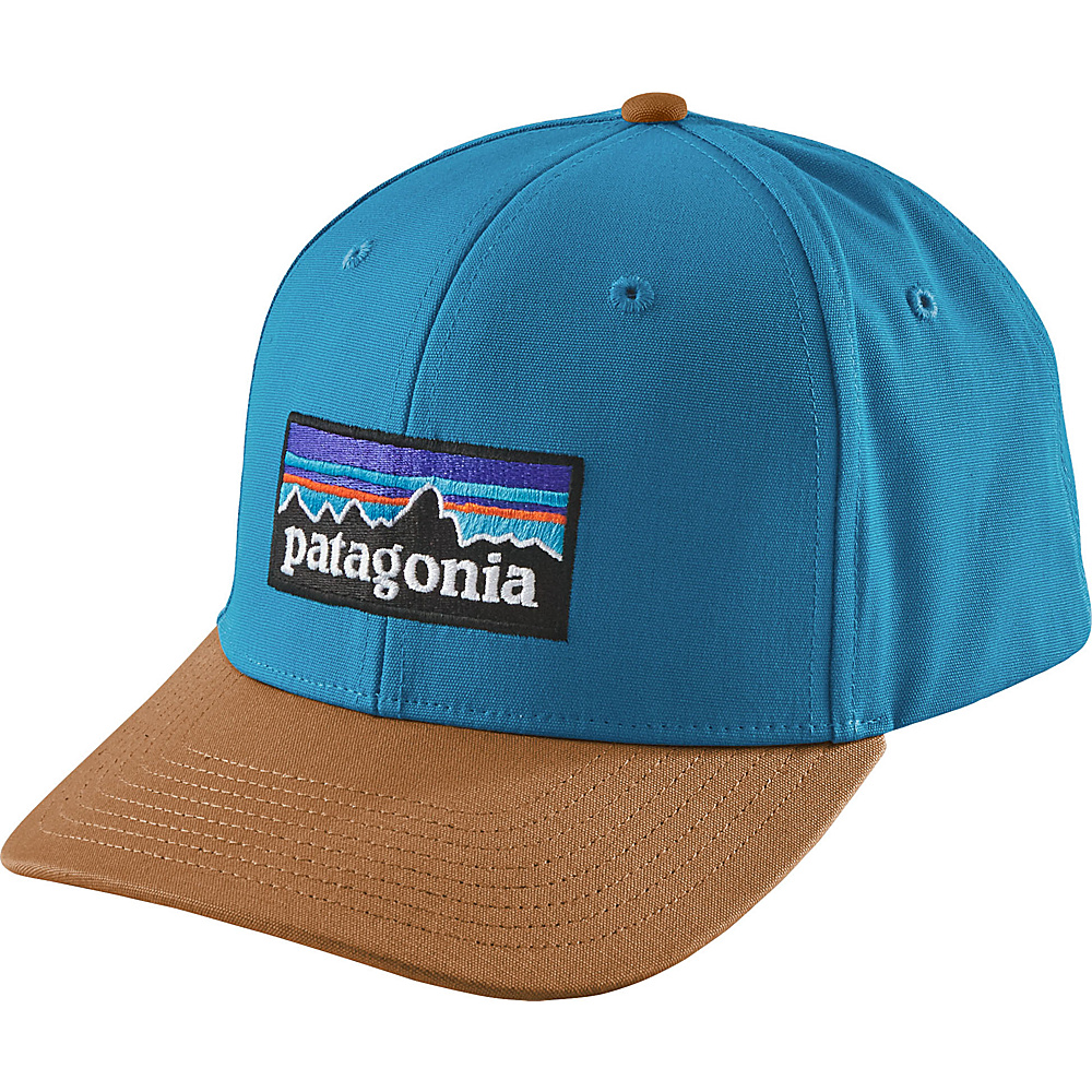 Patagonia P-6 Logo Roger That Hat One Size - Radar Blue - Patagonia Hats/Gloves/Scarves - Fashion Accessories, Hats/Gloves/Scarves
