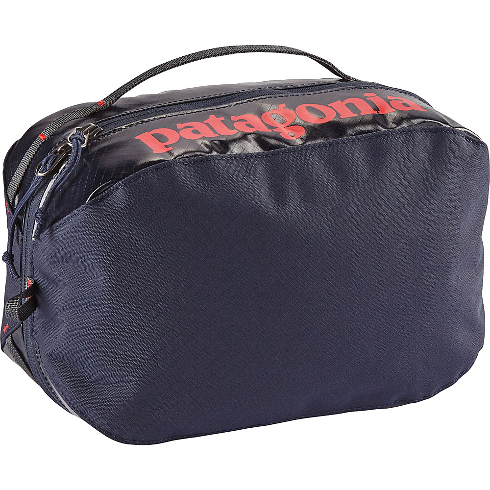 Patagonia Black Hole Cube - Medium Navy Blue w/Paintbrush Red - Patagonia Travel Organizers - Travel Accessories, Travel Organizers