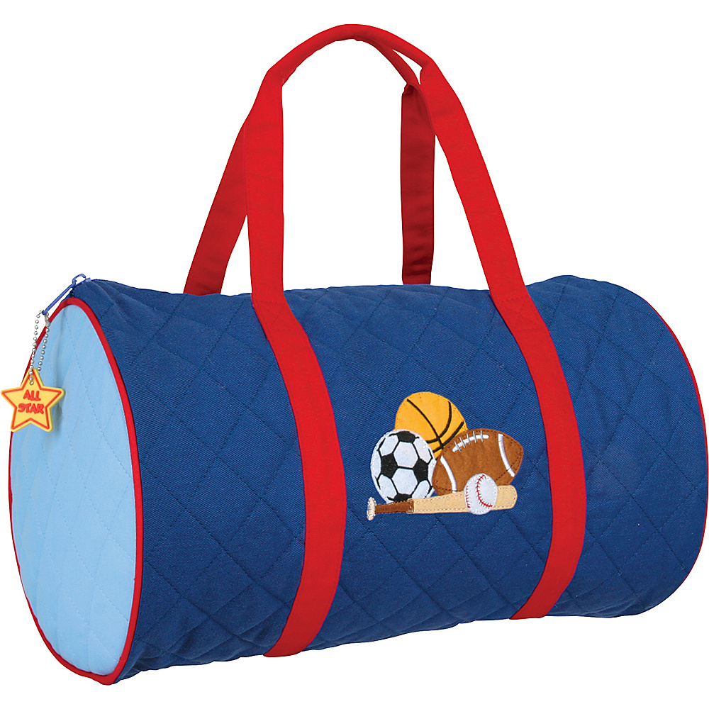 Stephen Joseph Kids Quilted Duffel Sports - Stephen Joseph Travel Duffels - Duffels, Travel Duffels