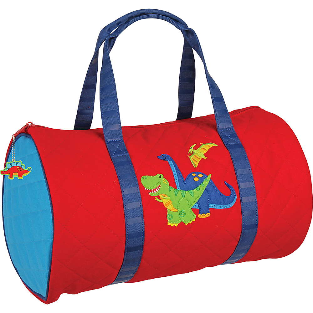 Stephen Joseph Kids Quilted Duffel Dino - Stephen Joseph Travel Duffels - Duffels, Travel Duffels