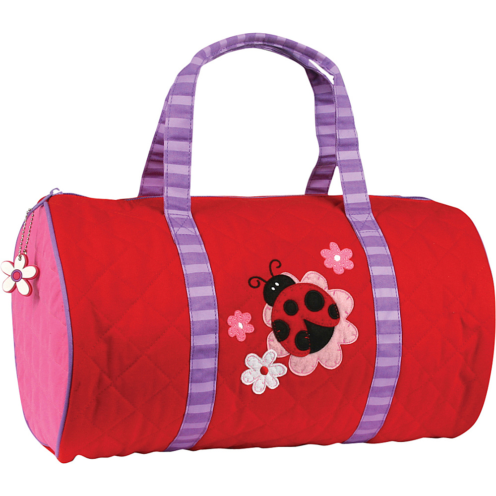 Stephen Joseph Kids Quilted Duffel Ladybug - Stephen Joseph Travel Duffels - Duffels, Travel Duffels